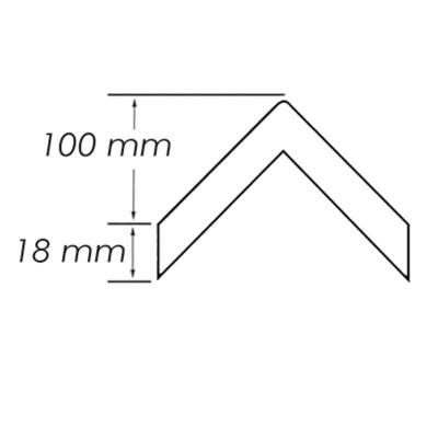 Arceau de protection en acier avec traverse horizontale