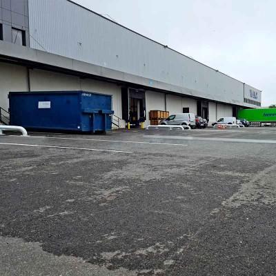 Kit 2 poteaux économique avec chaine et accessoires