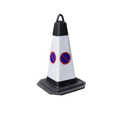 Kit 2 poteaux PVC et cordon velours