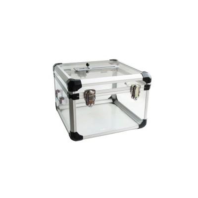 Base d'encastrement à sceller pour arceau de parking Stopblock